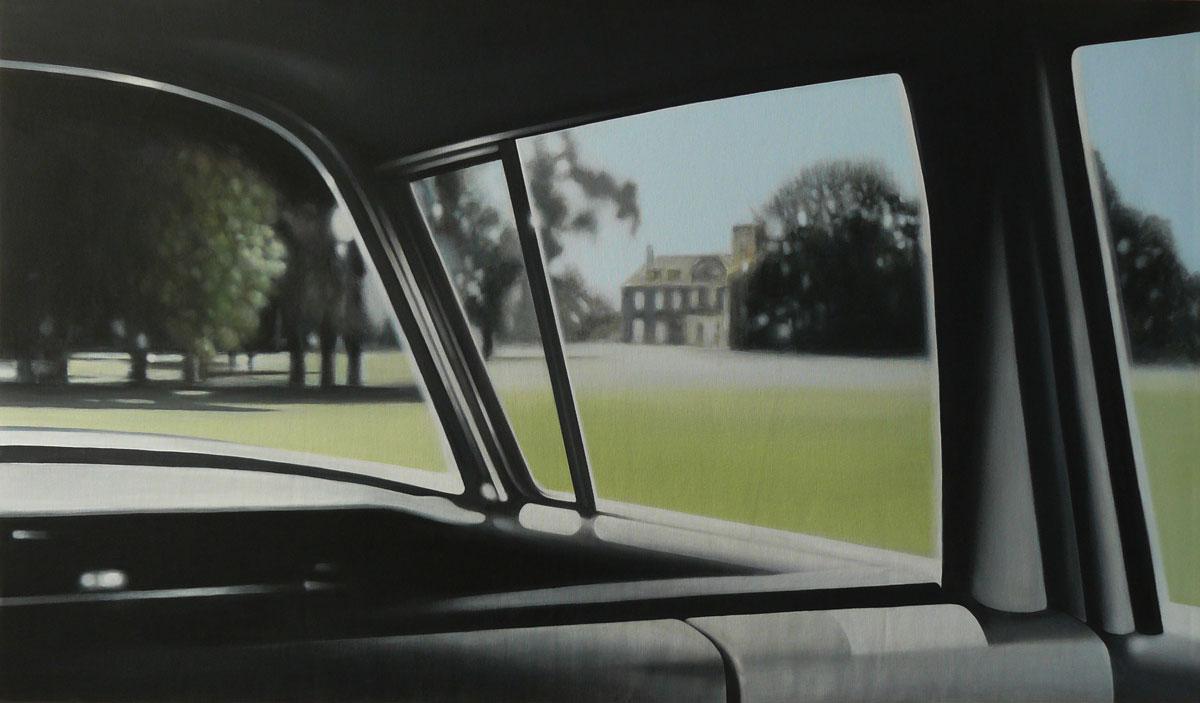 Villa-Townsend-(da-Intrigo-Internazionale)-2009,-130x75,-acrilico-su-tela