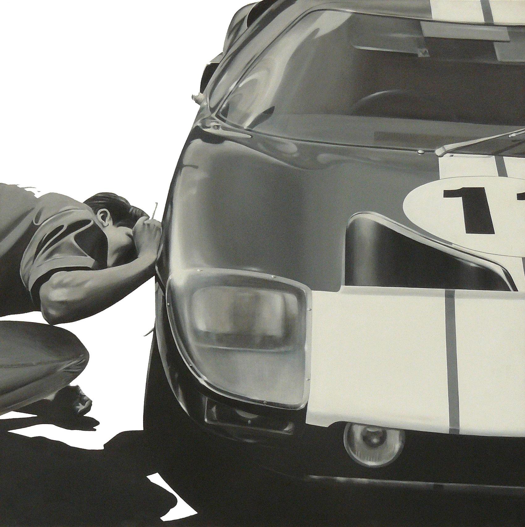 the-mighty-Ford-Sebring-1965-,-2005,98x98,-acrilico-su-tavola