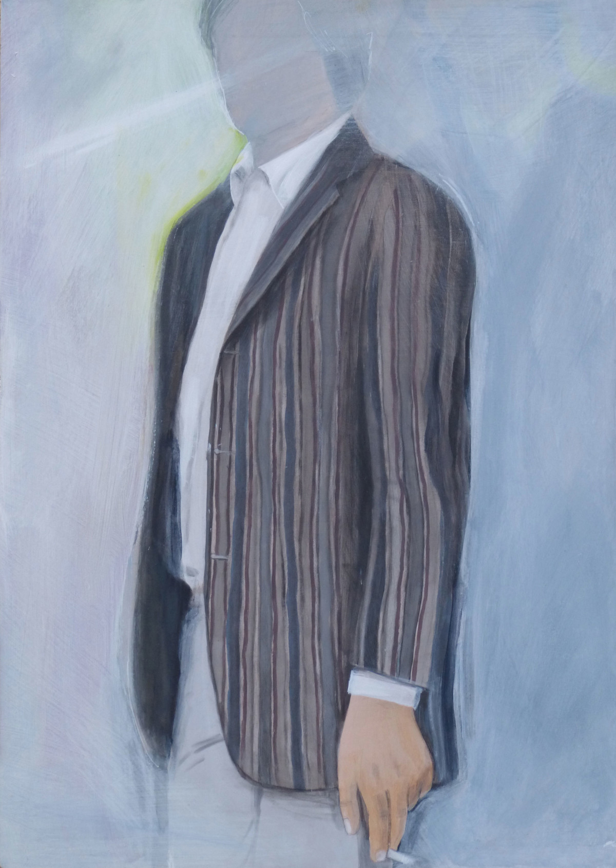 Mick-Jagger's-jacket,-57x41,-2017,-acrilico-su-tela